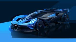 Bugatti lanzó Bolide, su modelo más rápido y liviano