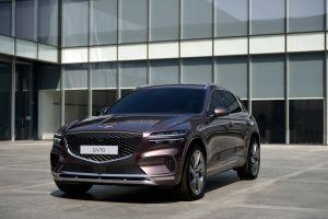Primeras imágenes de la SUV de Hyundai Genesis GV70 2022