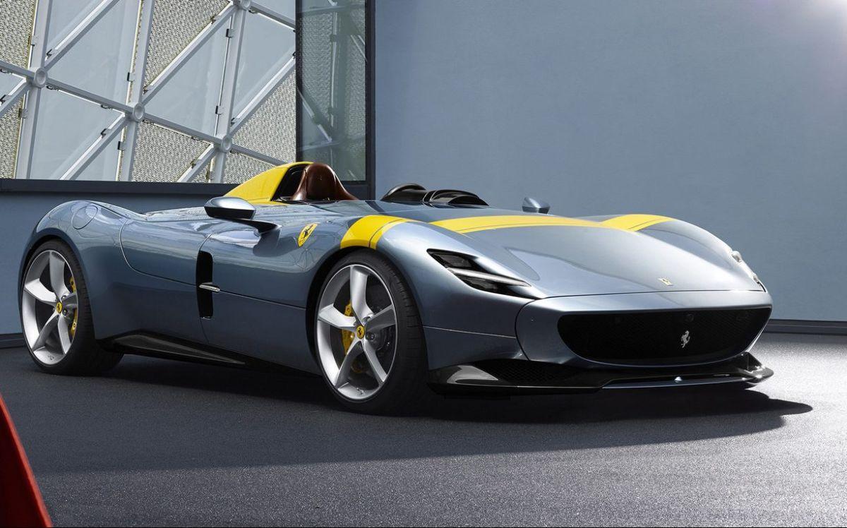 Ferrari Monza SP1. / Foto: Cortesía Ferrari.