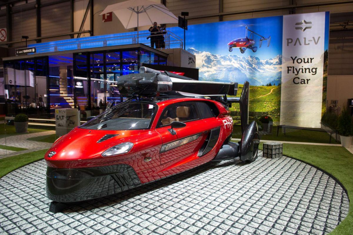 Increíble, este es el primer auto volador que legalmente puede circular por las calles en Holanda