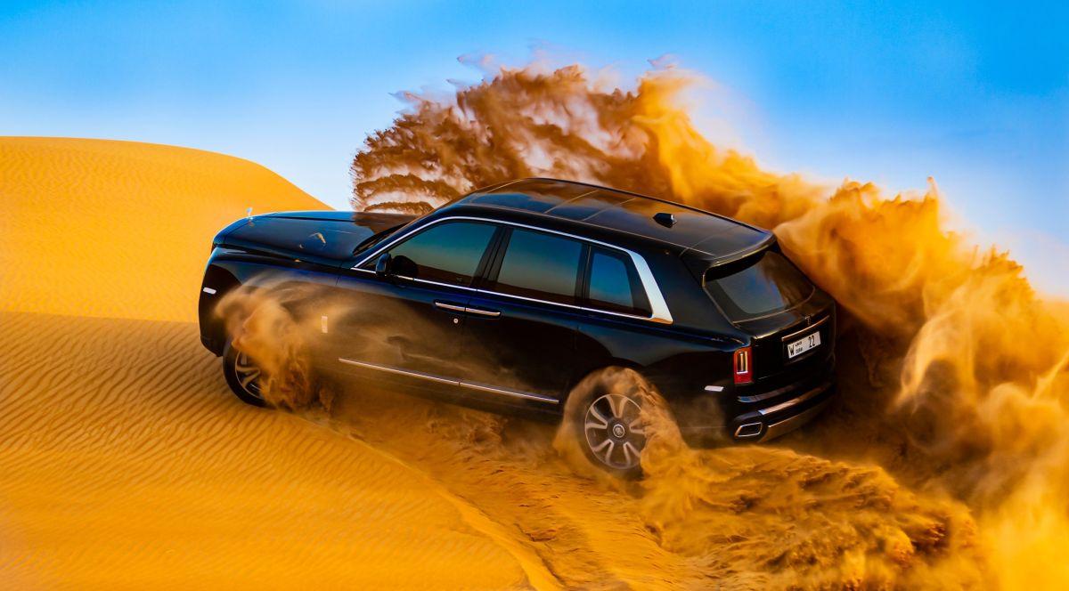 Rolls-Royce Cullinan. / Foto: Cortesía Rolls-Royce.