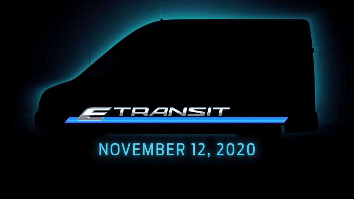 Ford prepara todo para la presentación de la nueva E-Transit 2022 el próximo mes de noviembre. / Foto: Cortesía Ford Media.