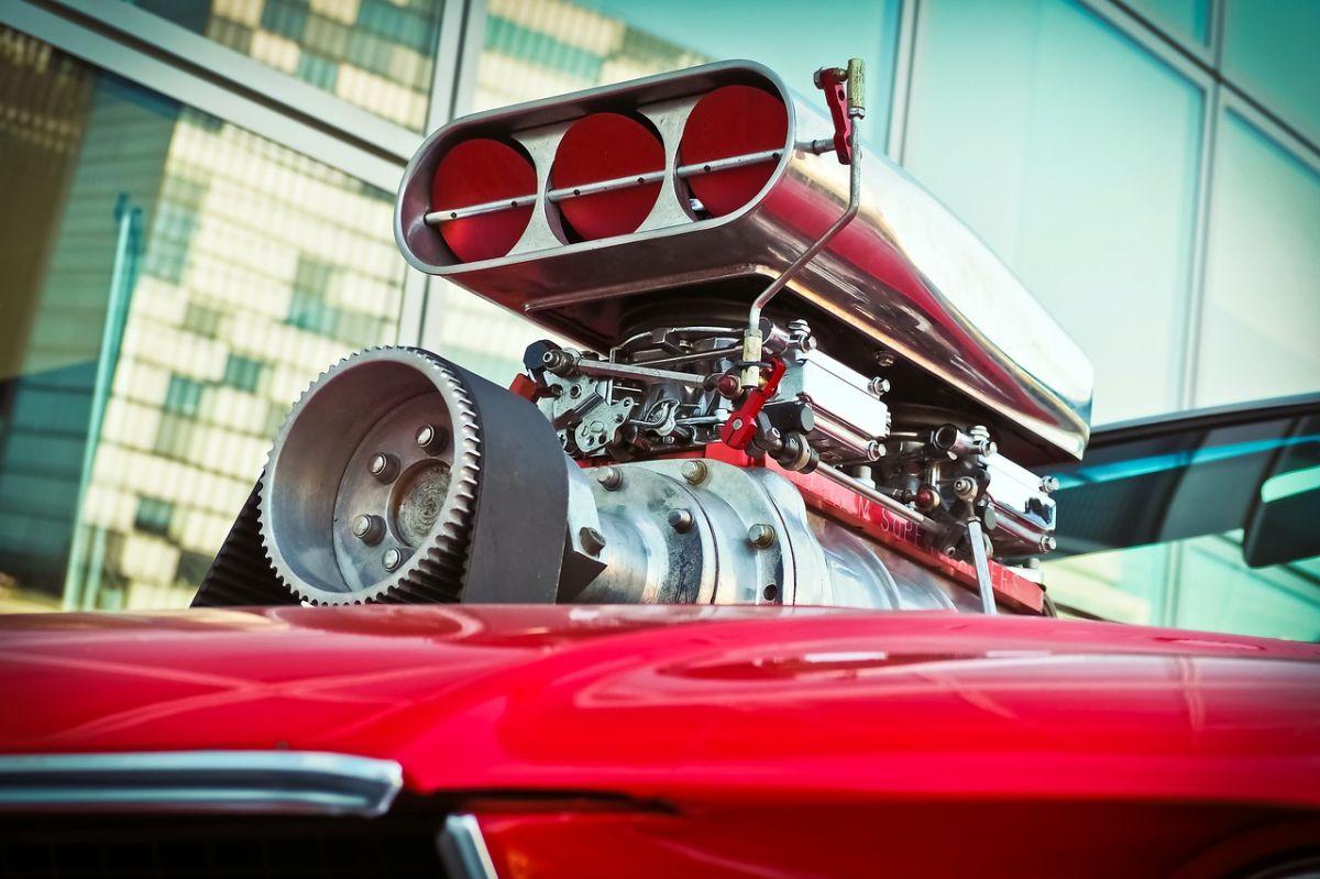 Motor Turbo Ford Mustang. / Foto: Pixabay.