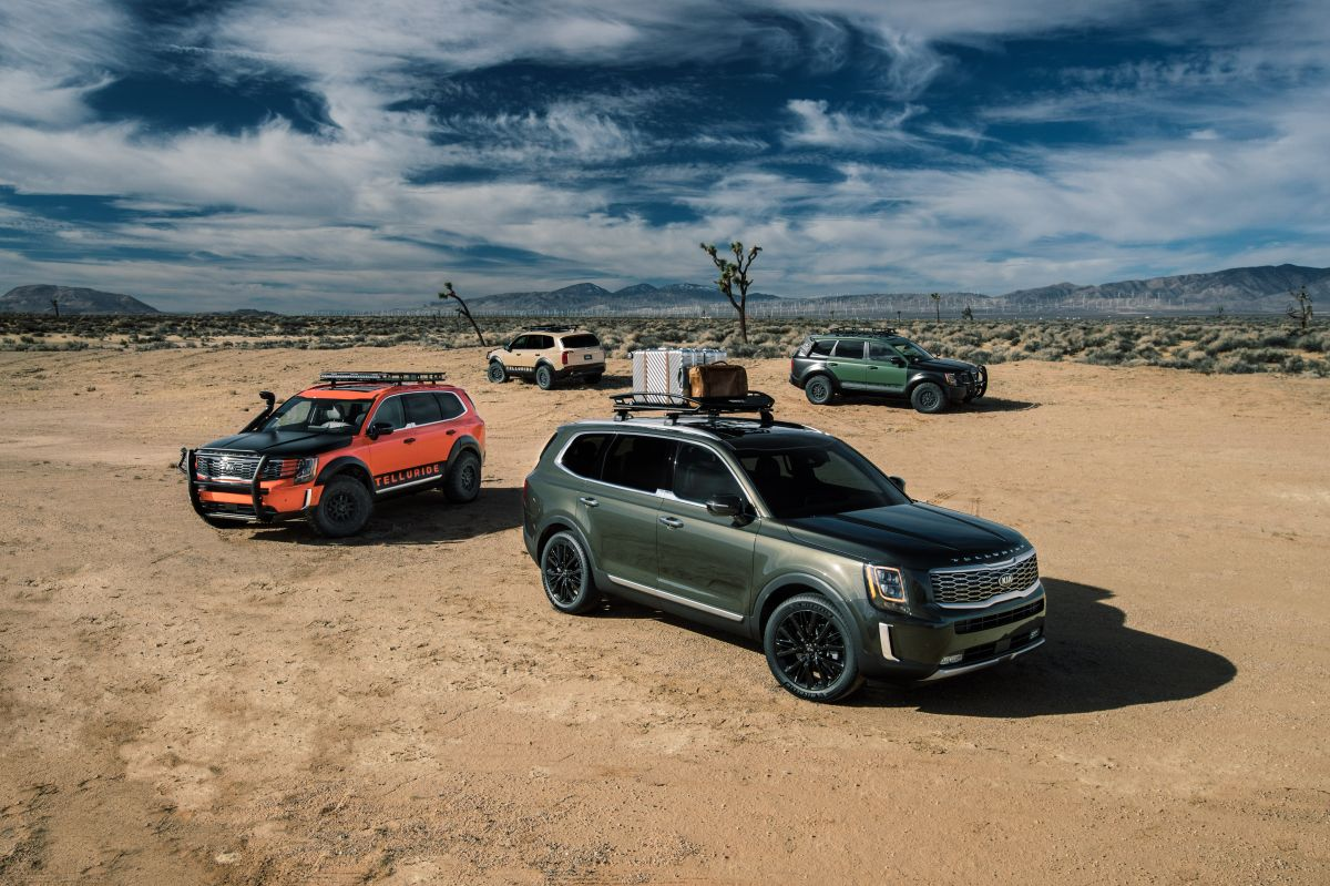 Kia Telluride, la mejor SUV mediana del 2020