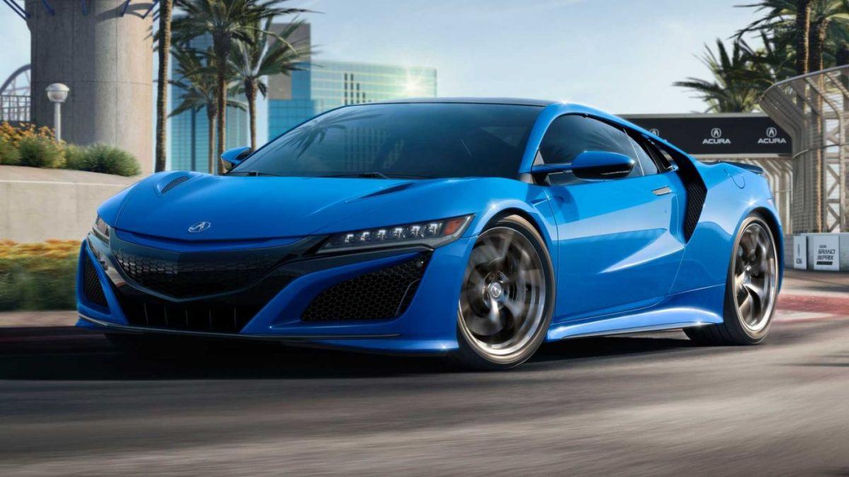 Acura rinde homenaje a su primer auto con el lanzamiento del nuevo NSX Long Beach Blue