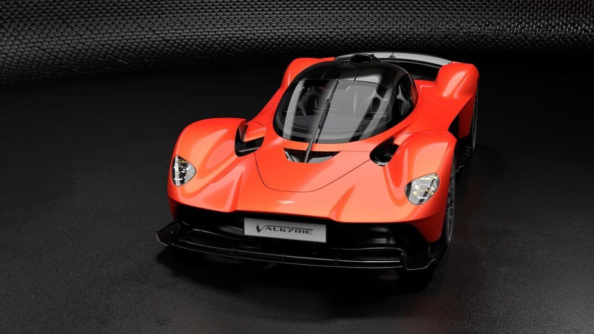 Aston Martin Valkyrie. / Foto: Cortesía Aston Martin.