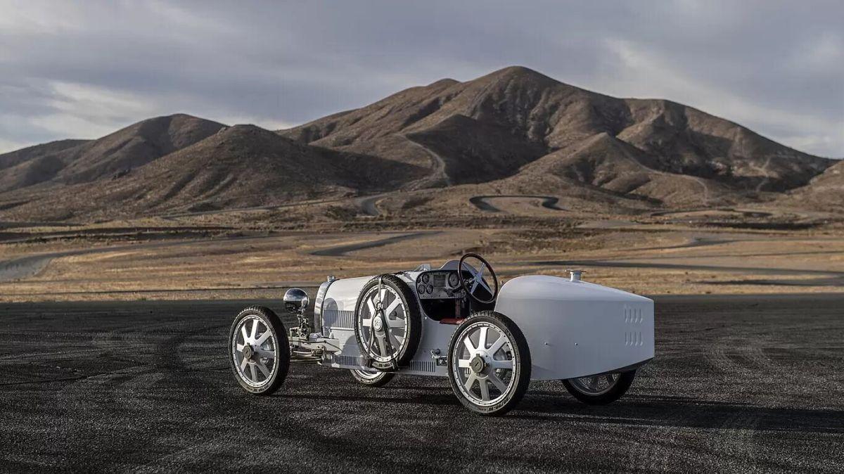 Bugatti Baby II. / Foto: Cortesía Bugatti.