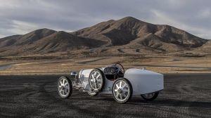 Así es el nuevo Bugatti Baby II, un mini kart que desafía a cualquiera que piense que no vale la pena