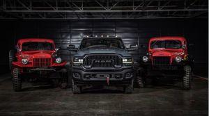 La edición del 75 aniversario de la Ram Power Wagon 2021 hace honor a la camioneta 4x4 más emblemática