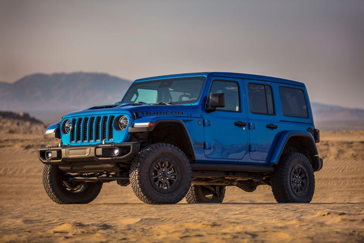 Jeep lanza el Wrangler más poderoso de su historia: el Rubicon 392 de motor V-8 y 470 caballos de potencia