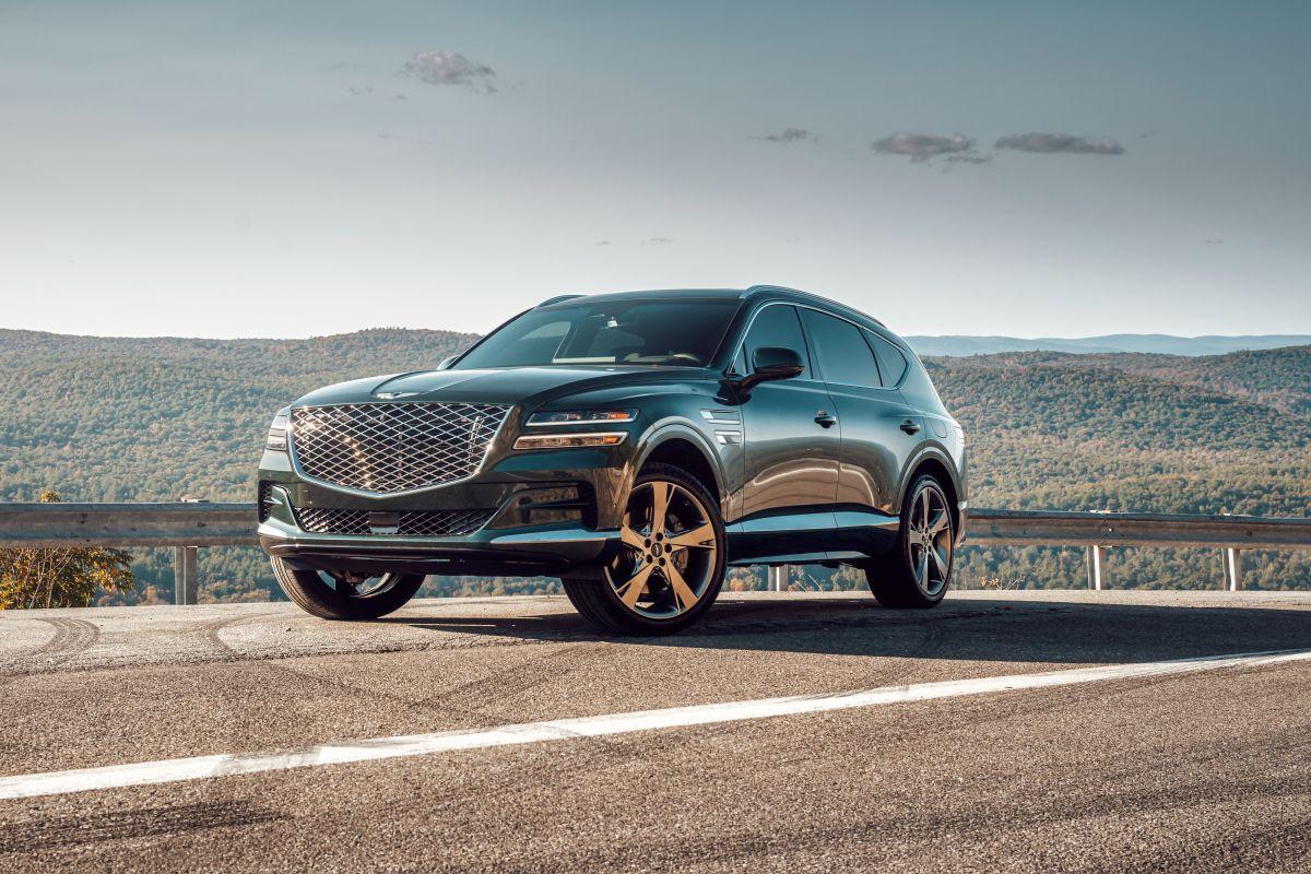 La inspiración para el GV80 vino claramente de Bentley.