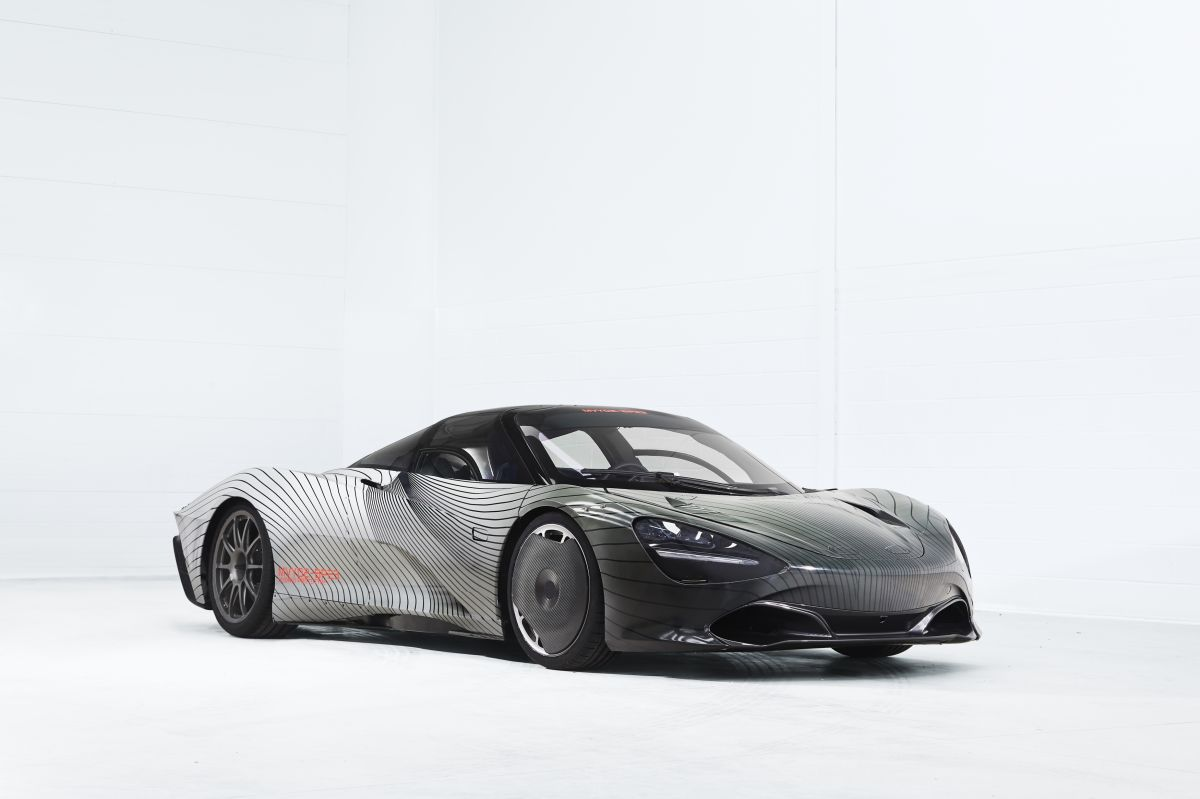 Venden un McLaren Speedtail, edición limitada al doble de su precio de agencia