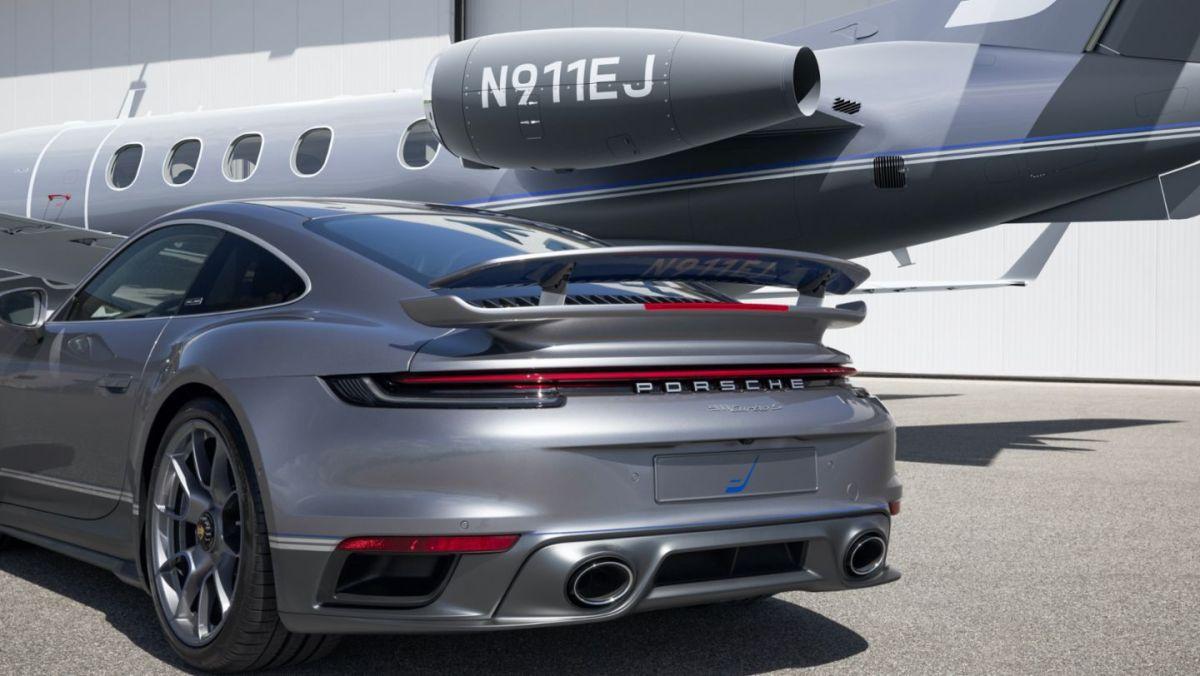 ¡Increíble! Este Porsche se vende únicamente en paquete junto a un jet privado totalmente de lujo