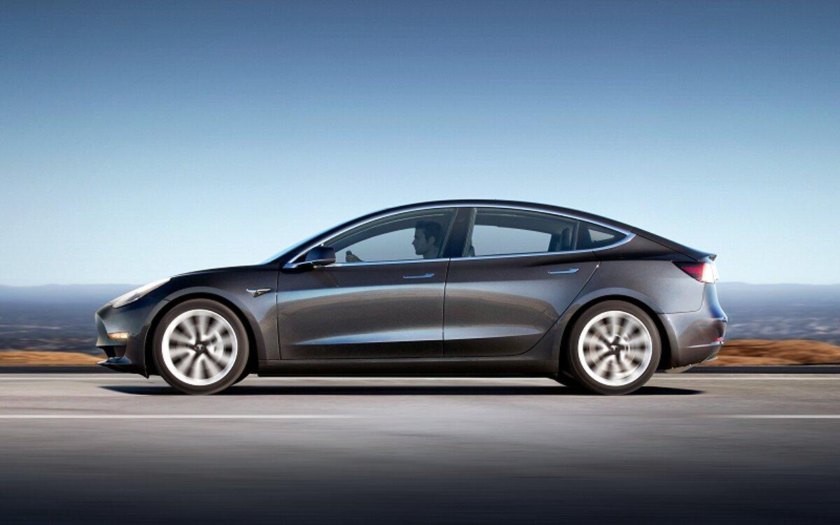 Tesla Model 3. / Foto: Cortesía Tesla.