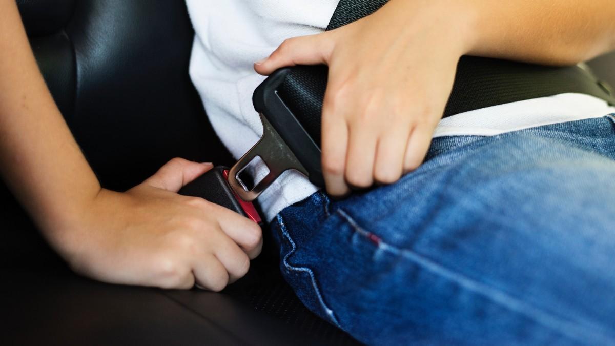 Este video demuestra la importancia de usar el cinturón de seguridad en la parte trasera del auto