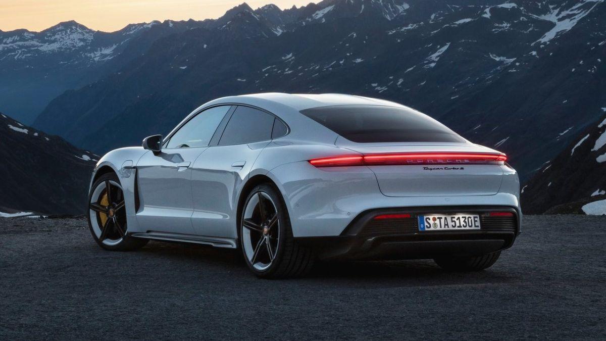 Porsche Taycan-E. / Foto: Cortesía Porsche.