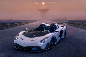 El nuevo Lamborghini SC20 parece un auto de F1