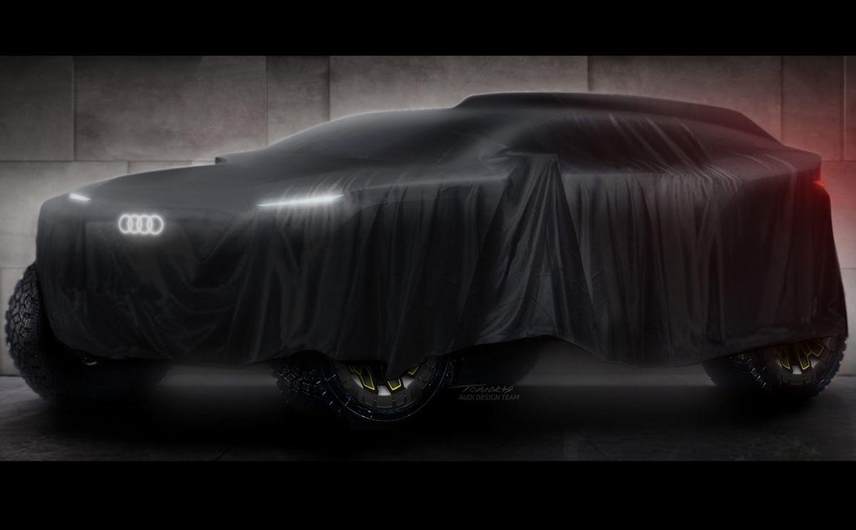Teaser Dakar 2022. / Foto: Cortesía Audi.