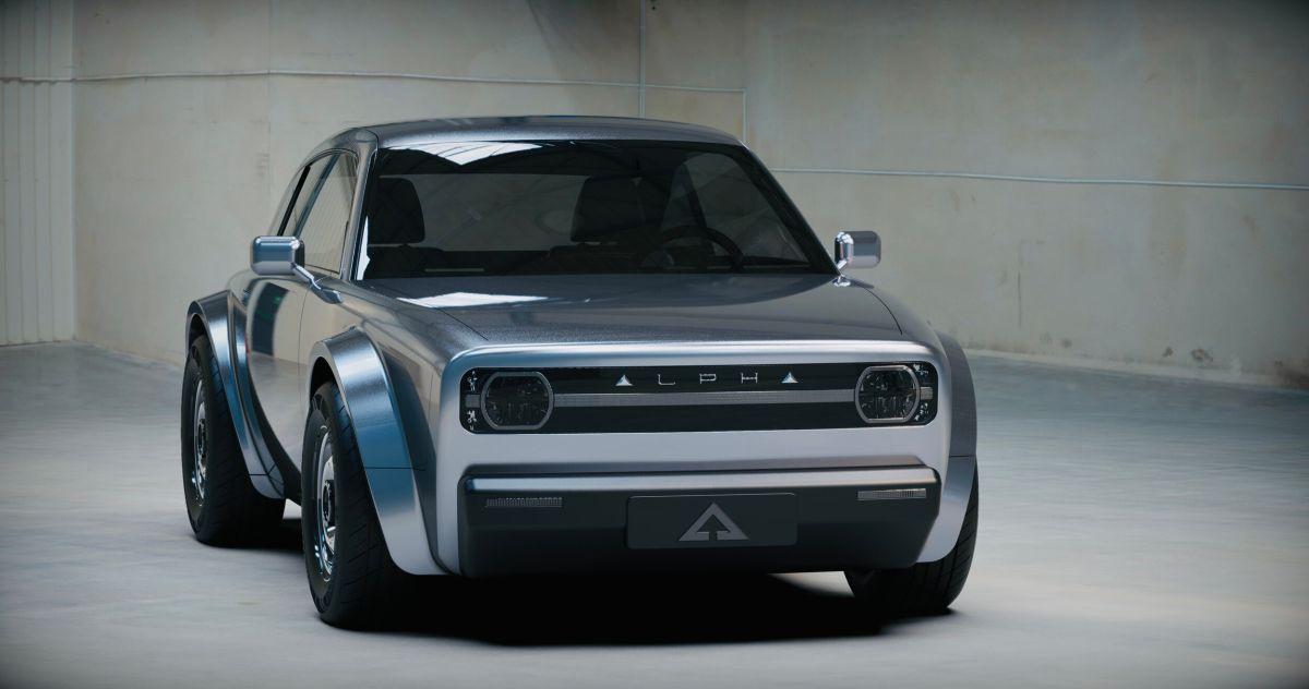 Cómo es el EV retro coupé que Alpha Motor Ace presentó y dejó a todos impactados