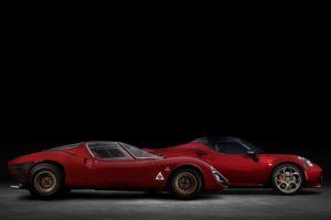 Alfa Romeo anuncia el 4C Spider 33 Stradale Tributo, inspirado en el legendario deportivo