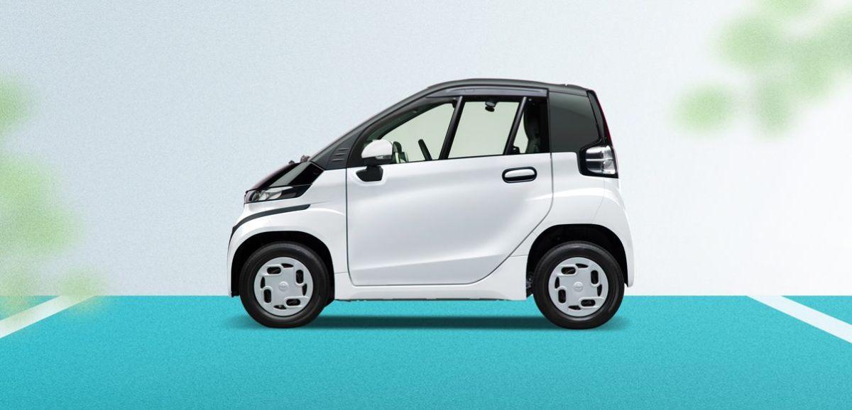 Toyota C+Pod  el miniauto eléctrico que busca conquistar a los conductores con su peculiar diseño