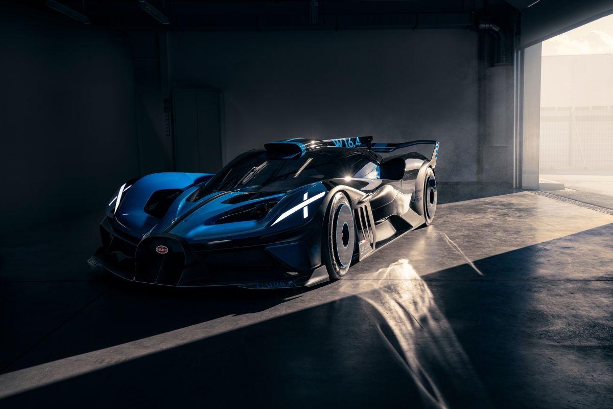 Bugatti lanza fotos reales del Bolide de 1,825 HP