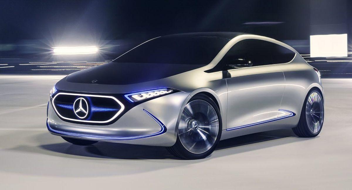 Mercedes-Benz EQA. / Foto: Cortesía Daimler Media.