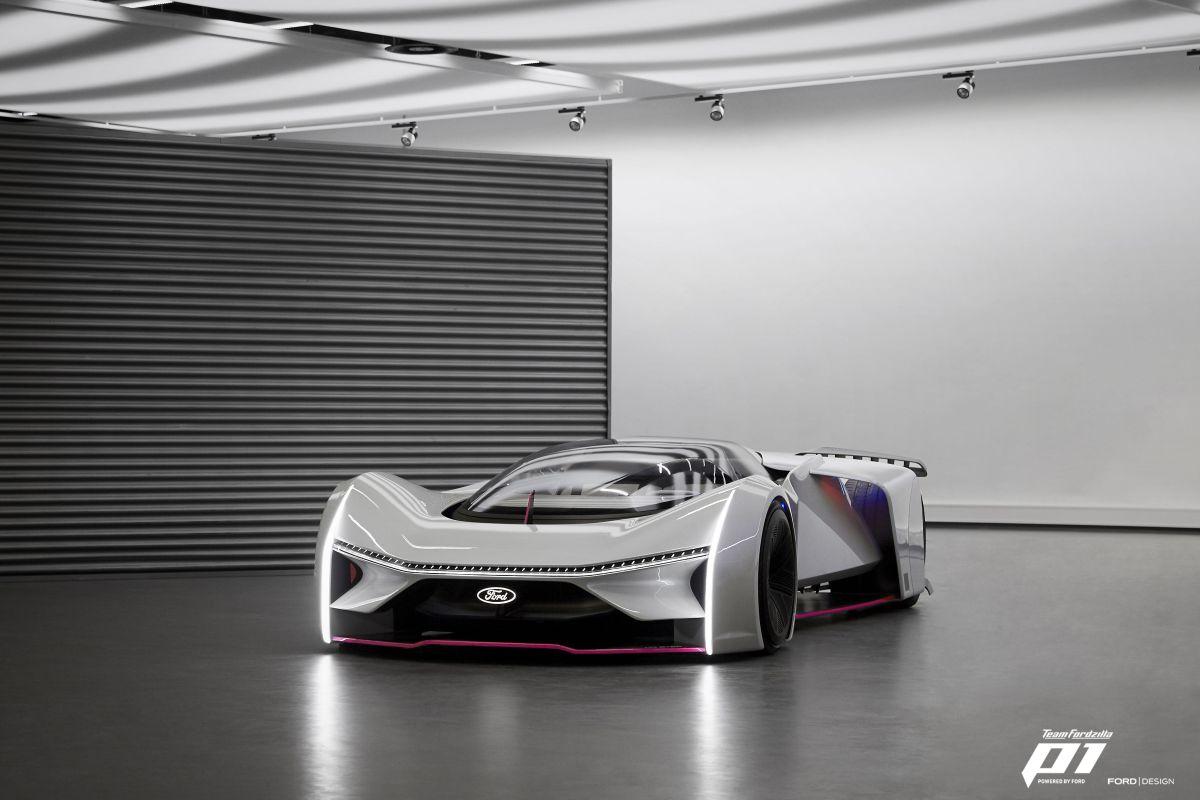 Así es el superdeportivo Ford P1, un auto que luce literalmente irreal