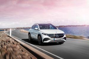 Cómo es la EQA, la nueva SUV económica eléctrica de Mercedes-Benz