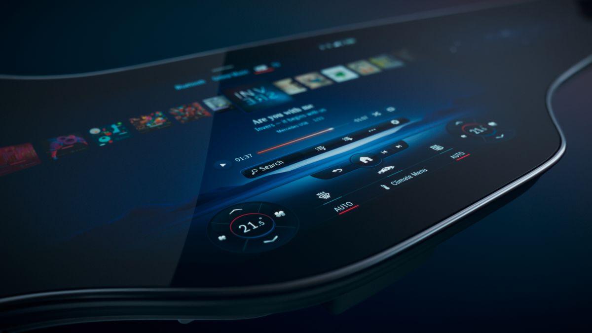 Conoce la Mercedes Hyperscreen, una sorprendente megapantalla de infotenimiento dentro de los vehículos de Mercedes-Benz