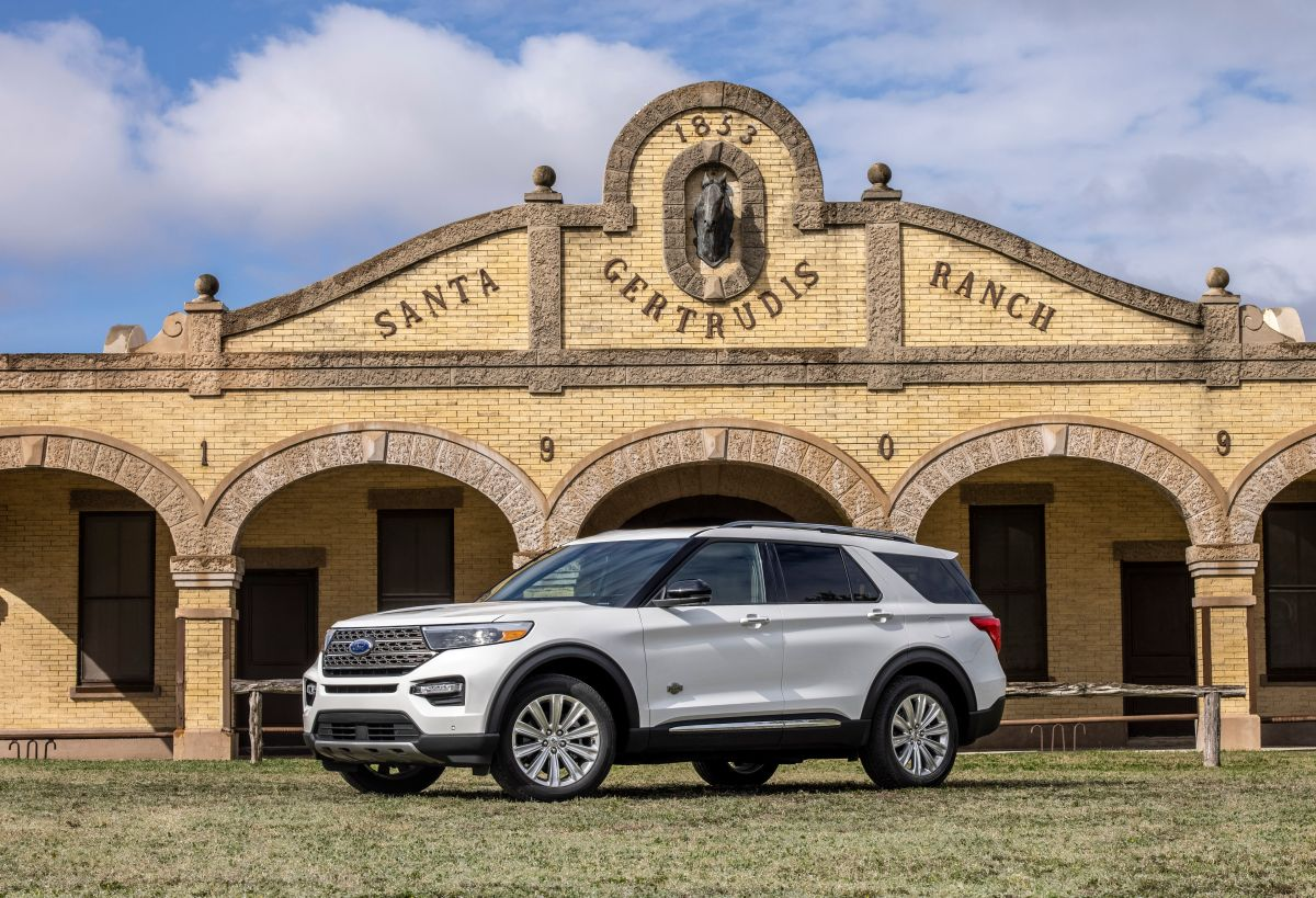 Ford ahora ofrece la Explorer en edición King Ranch