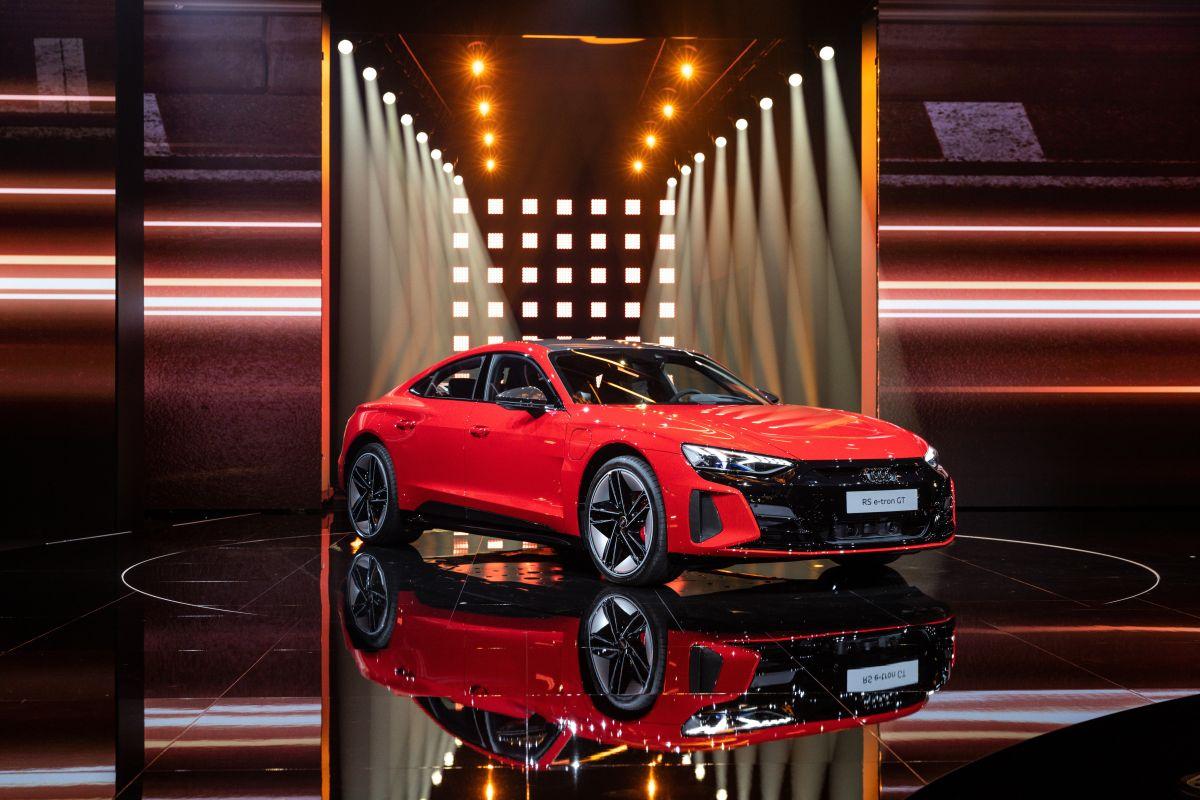 Cómo es el nuevo modelo eléctrico de Audi, el e-tron GT2