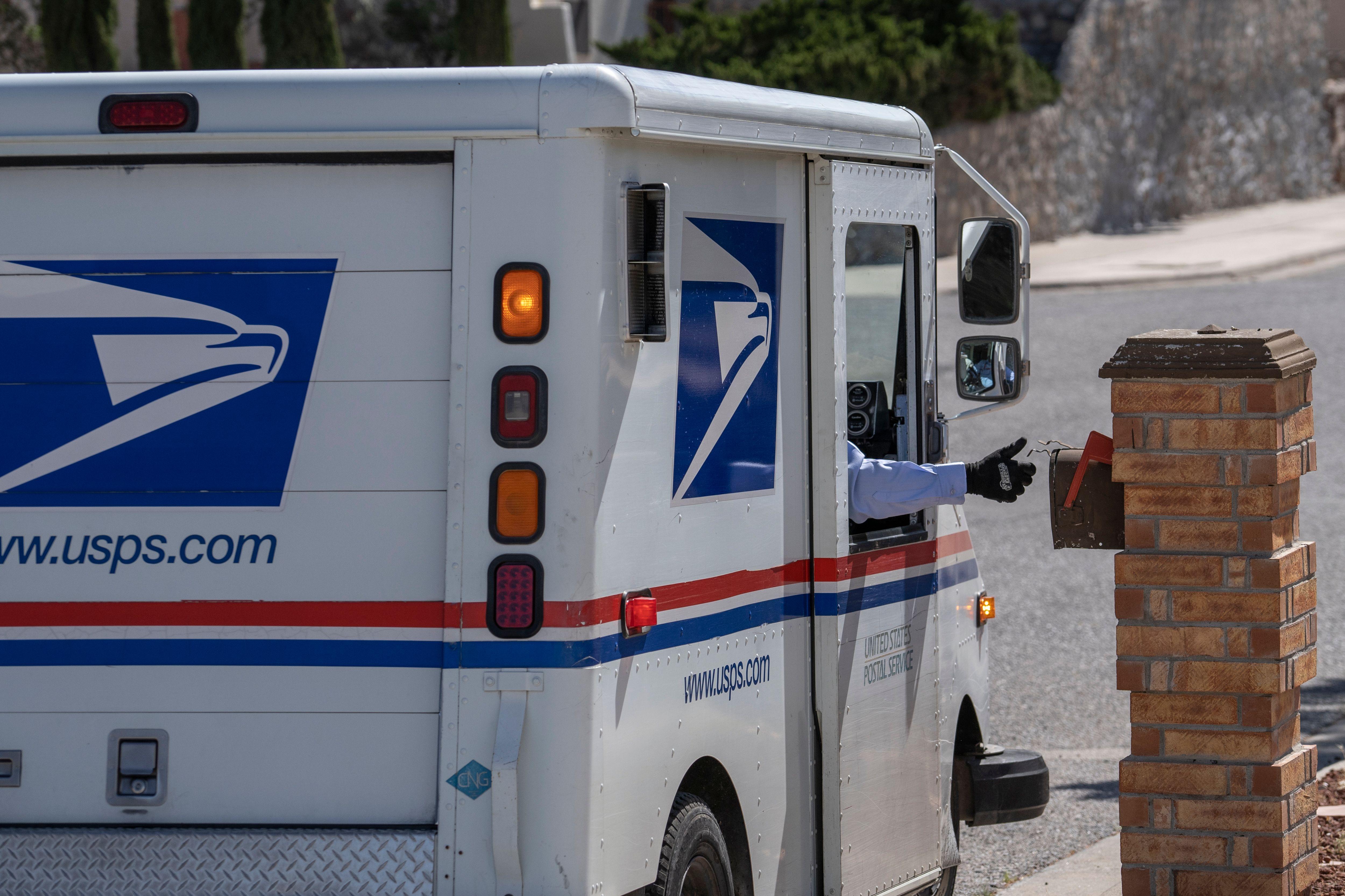 USPS- Servicio Postal de Estados Unidos. / Foto: Getty Images.