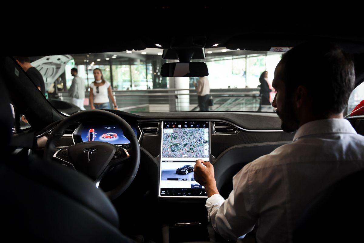 Interior del Tesla Model S. / Foto: Cortesía Getty Images.