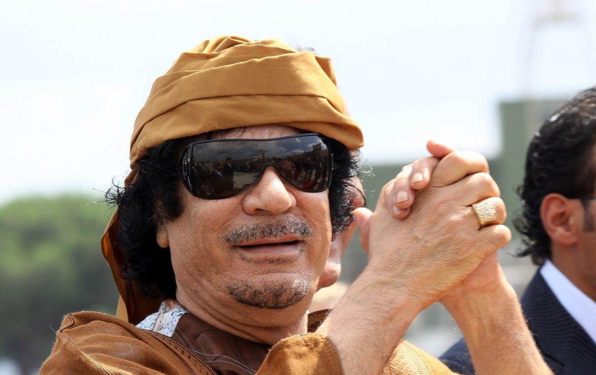 El increíble Mercedes Benz que el dictador libio Muamar el Gadafi había encargado antes de terminar su mandato