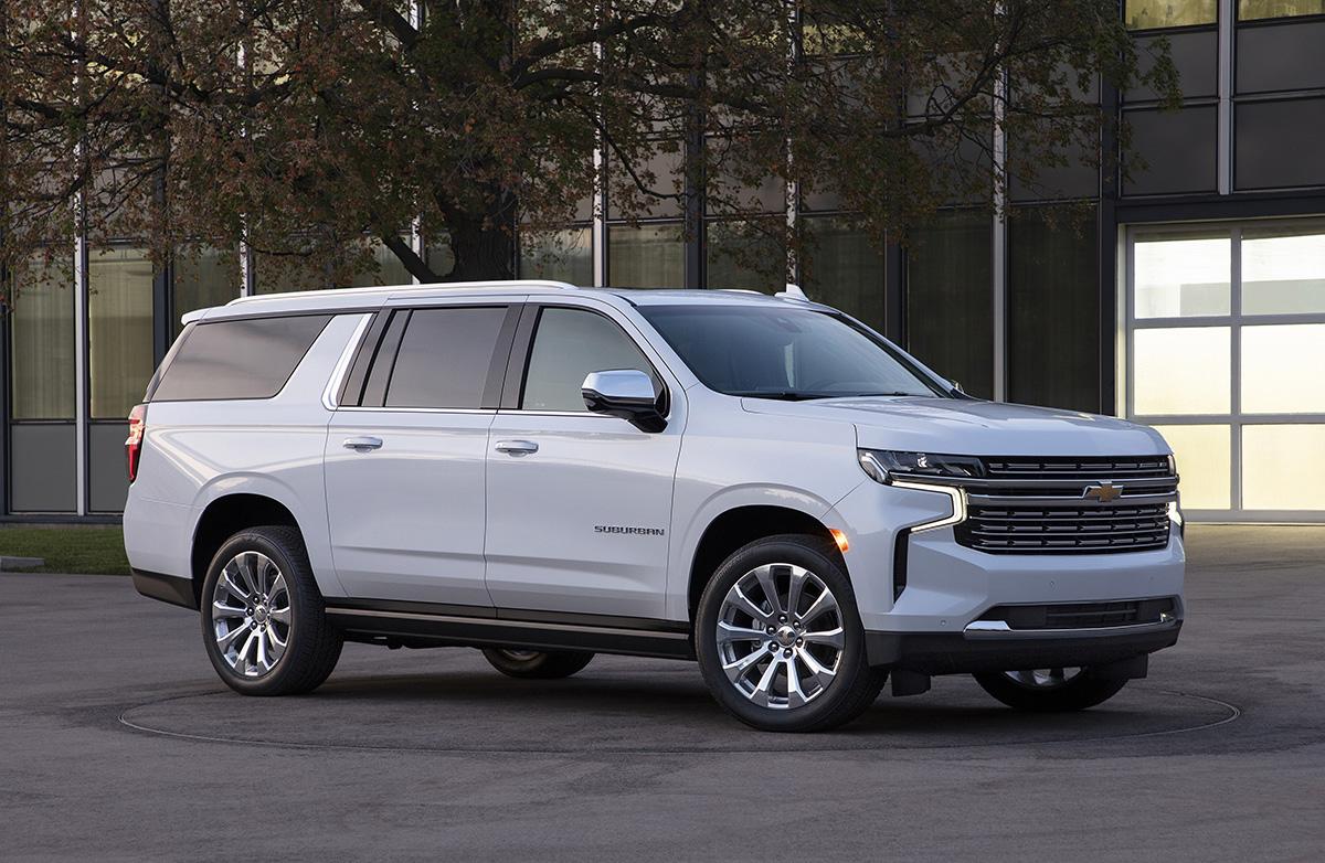 El 2021 Chevrolet Suburban.
