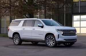 El Chevrolet Suburban fue elegido Mejor SUV por la Hispanic Motor Press Association