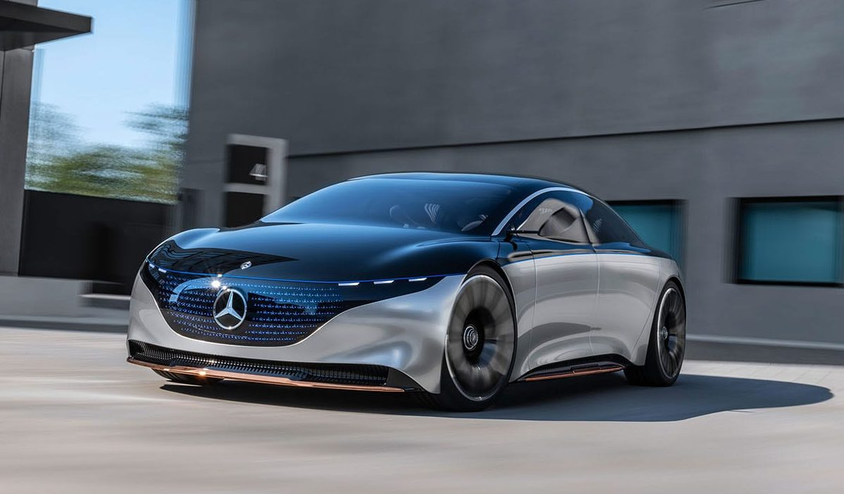 Mercedes-Benz Vision EQS Concept