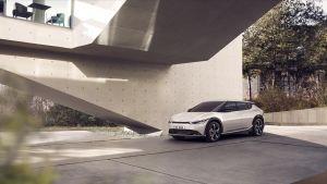 Kia revela las primeras imágenes del eléctrico EV6