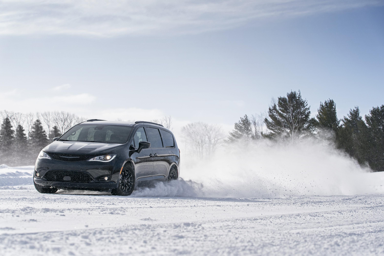 La 2021 Chrysler Pacifica viene con tracción a las cuatro ruedas.