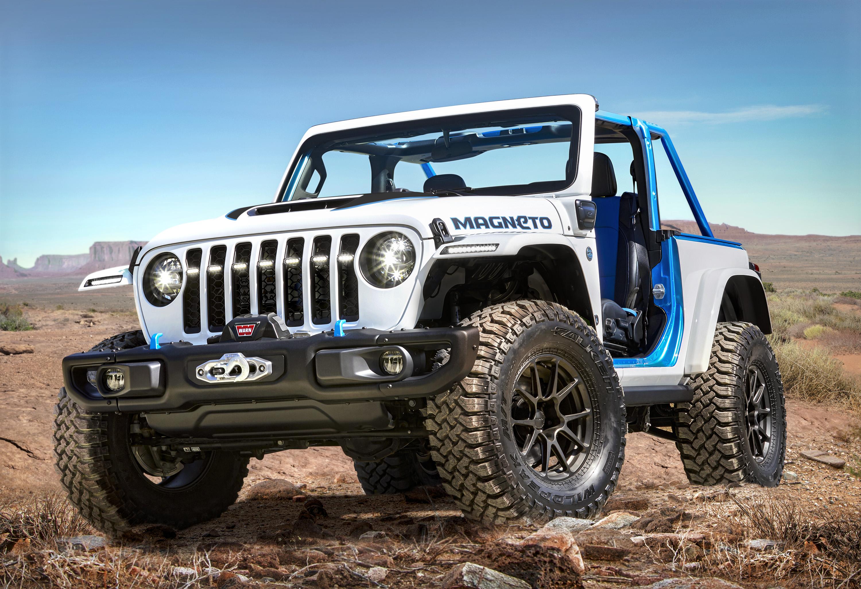 Jeep Wrangler Magneto Concept. / Foto: Cortesía Stellantis.