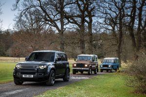 Cómo es la poderosa Land Rover Defender V8