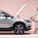 Cómo es la nueva Volvo C40 totalmente eléctrica