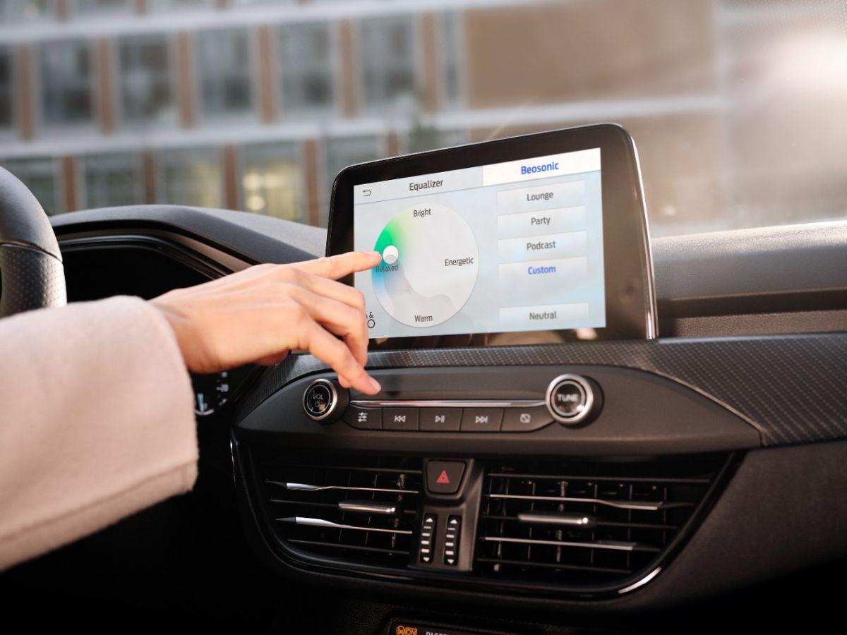 B&O Beosonic, la nueva función de sistema de audio de Ford que permite ajustar el sonido con un solo toque