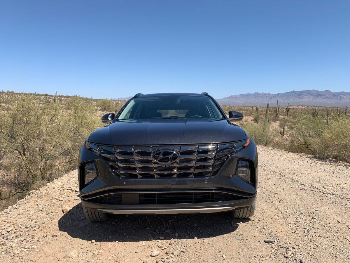 La parrilla frontal se viene incorporando a todos los últimos modelos de Hyundai.