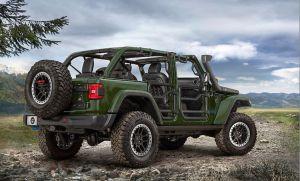 Mopar lanza las primeras partes para modificar el Jeep 4xe híbrido enchufable