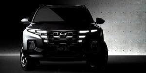 Hyundai revelas las primeras imágenes en boceto del nuevo Hyundai Santa Cruz 2022