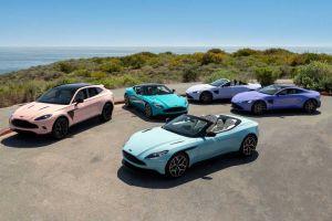The Pastel Collection', la nueva apuesta de color en los autos de Aston Martin que está dando mucho de qué hablar