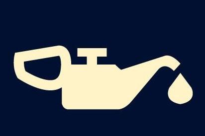 Imagen relativa a la luz que indica falta de aceite en el tablero del auto