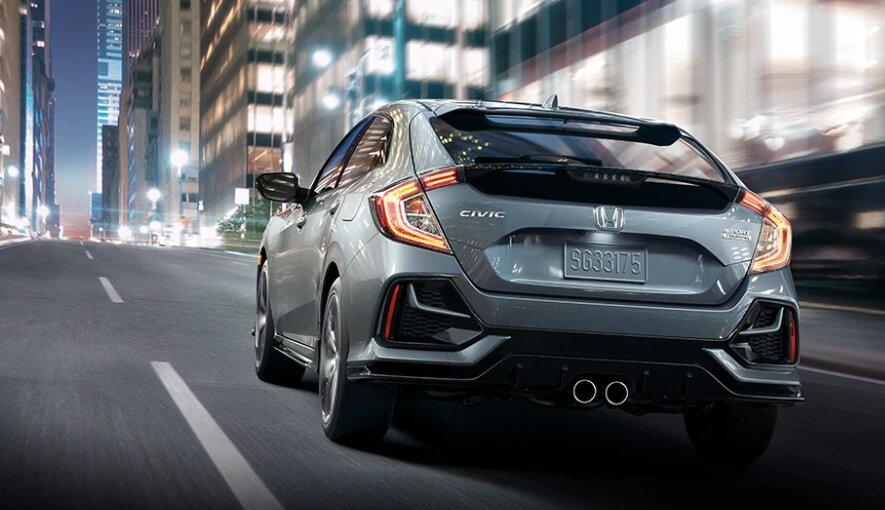 Honda Civic HB 2021. / Foto: Cortesía Honda.